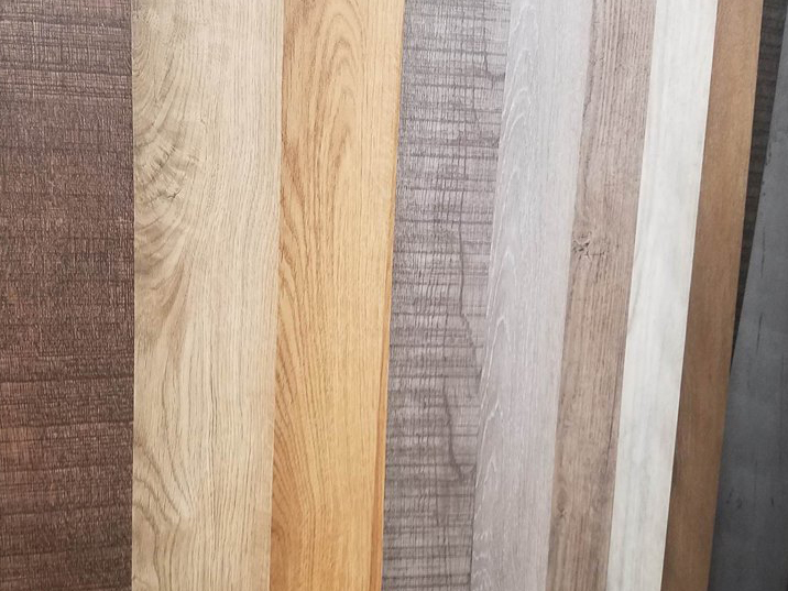 A range of vinyl planking options